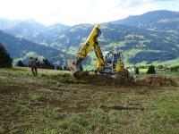 Leitungsbau Rothenbach - Metschstand 2014