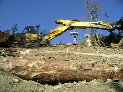 Holzverbau Wallegg für Lenk Bergbahnen