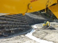 Hangsicherung Mittelstation Wallegg für Lenk Bergbahnen