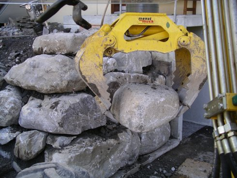 Blockmauer