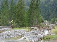 Ausbruch Gletscherbach